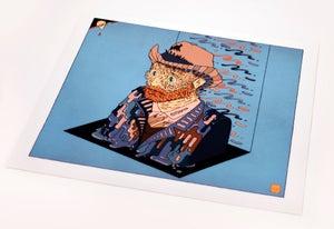 Image of Go Vincent, Go Vincent, Go! (70x70cm)