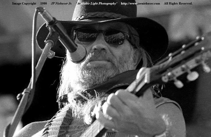 Image of Original 1980 Willie Nelson Limited Edition Fine Art Print