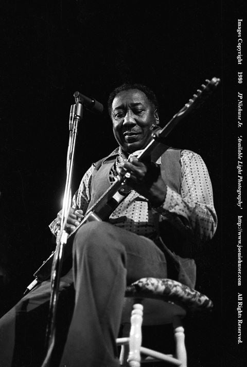 Image of Original 1980 Muddy Waters Limited Edition Fine Art Print