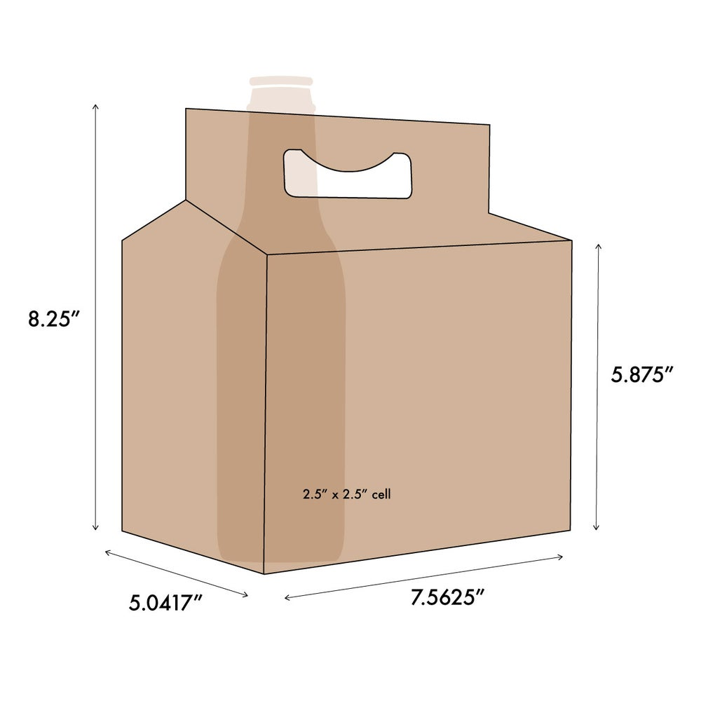 Image of Mix 6ix Kraft Blank