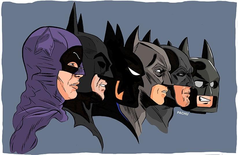 Image of Batman On Film
