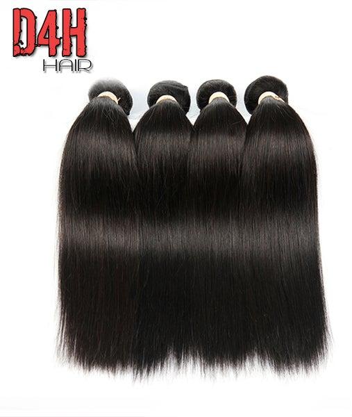 Image of Eurasian Hair Virgin Straight Hair (Human) Price Per Bundle