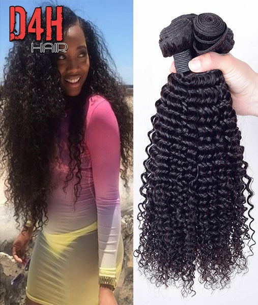 Image of Brazilian Virgin Kinky Hair (Human) Price Per Bundle