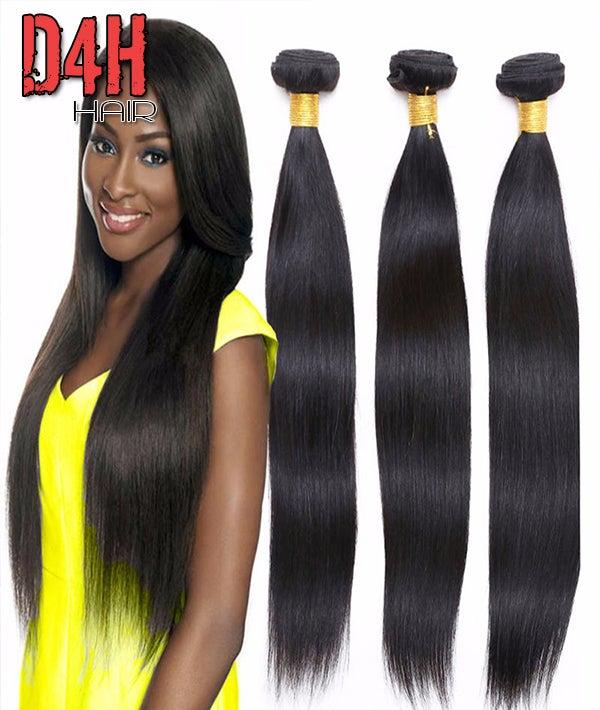 Image of Malaysia Virgin Straight Hair (Human) Price Per Bundle