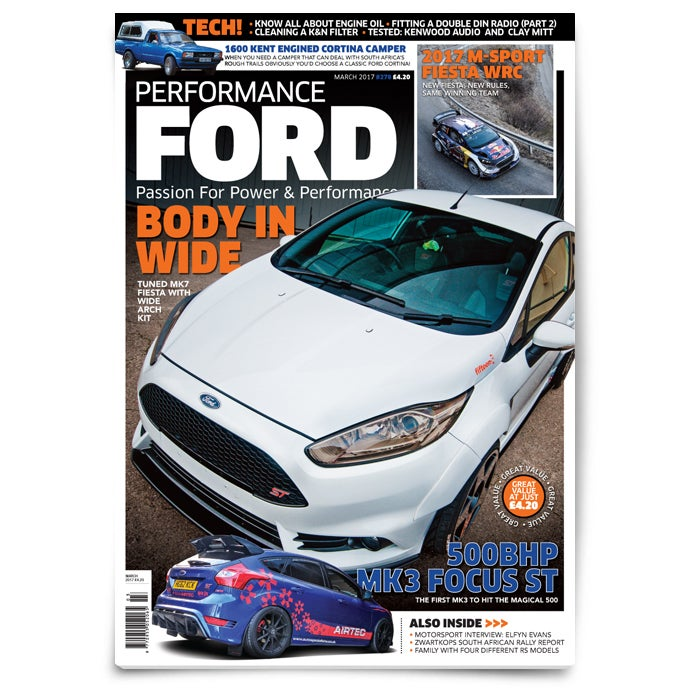 Image of Performance Ford Latest Issue