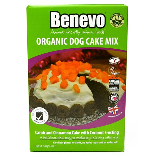 Image of BENEVO organic dog cake mix