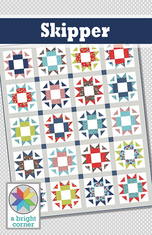 Image of Skipper Quilt Pattern - PAPER pattern
