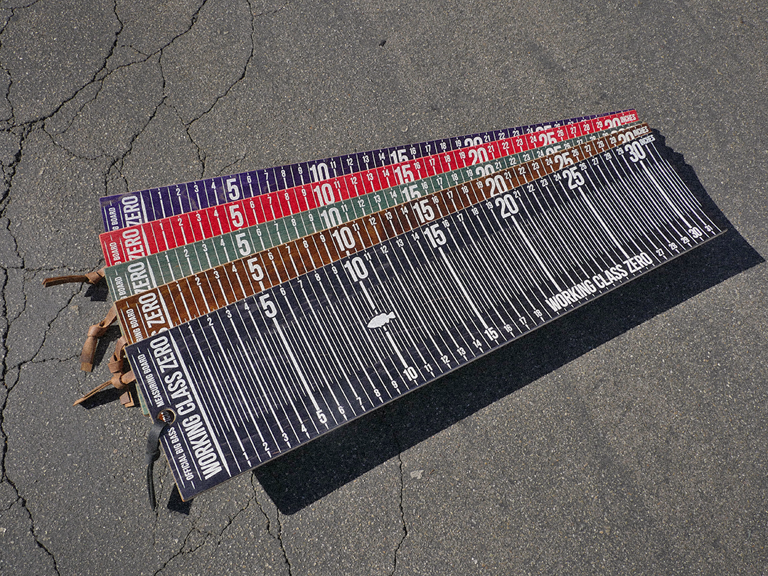 Image of [ PRE-ORDER] Limited Edition Big Bass Measuring Board