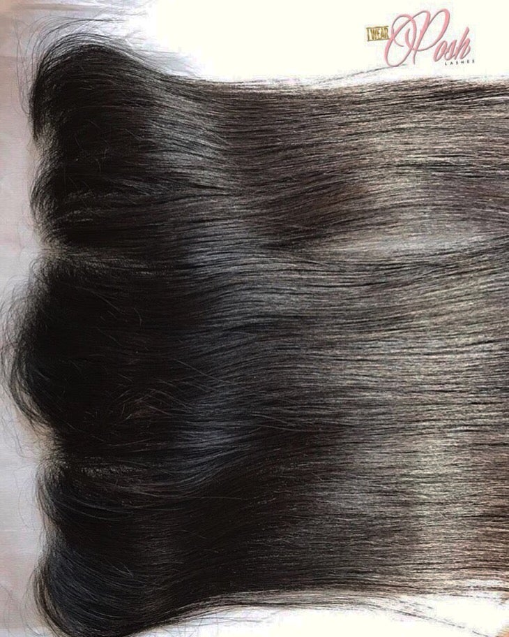 Image of HD Lace Brazilian Straight Frontal