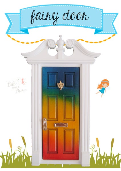 Once upon a door home for Rainbow fairy door