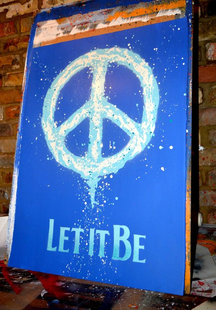 "Image of ""Speaking Words of Wisdom"" - Blue"