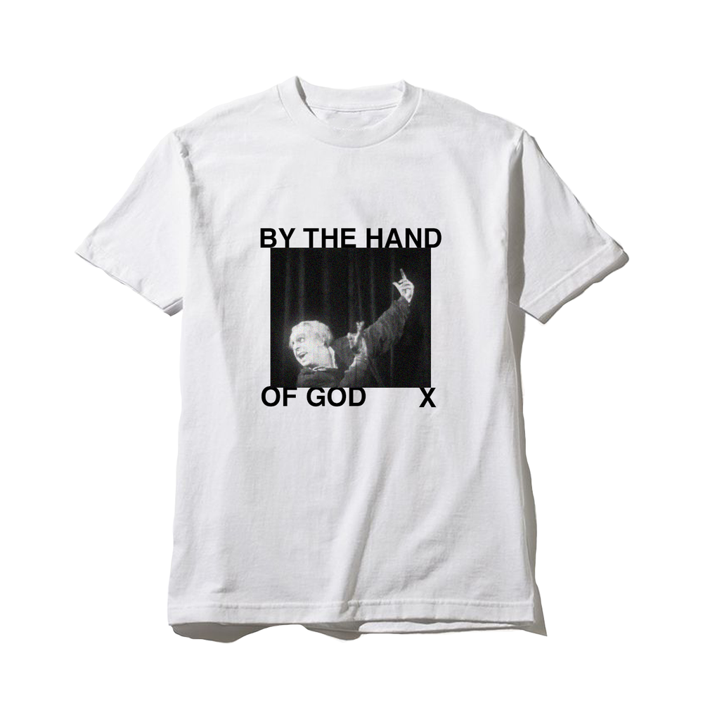 Image of by the hand of god tee
