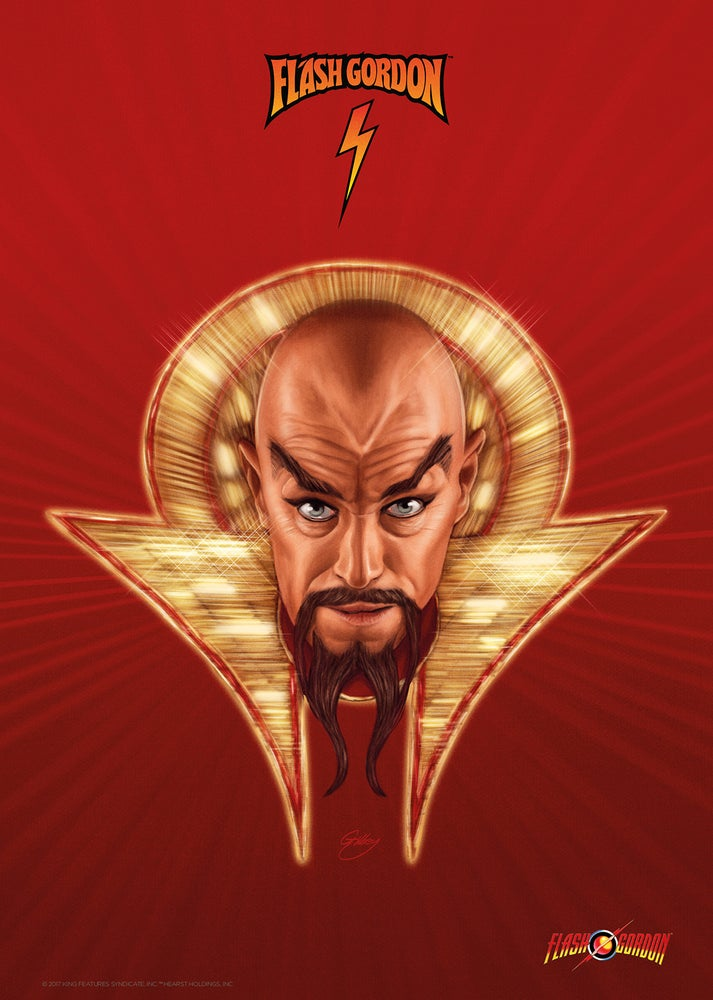 Image of Ming the Merciless (officially licensed print – artist proof)
