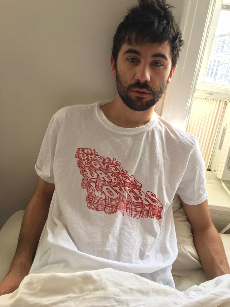 Image of The Undercover Dream Lovers Tee (white/red)
