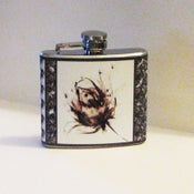 Image of Whispers - Stainless Steel Flask 4 oz