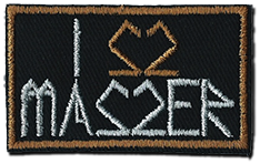 Image of I LOVE MASZER - Patch
