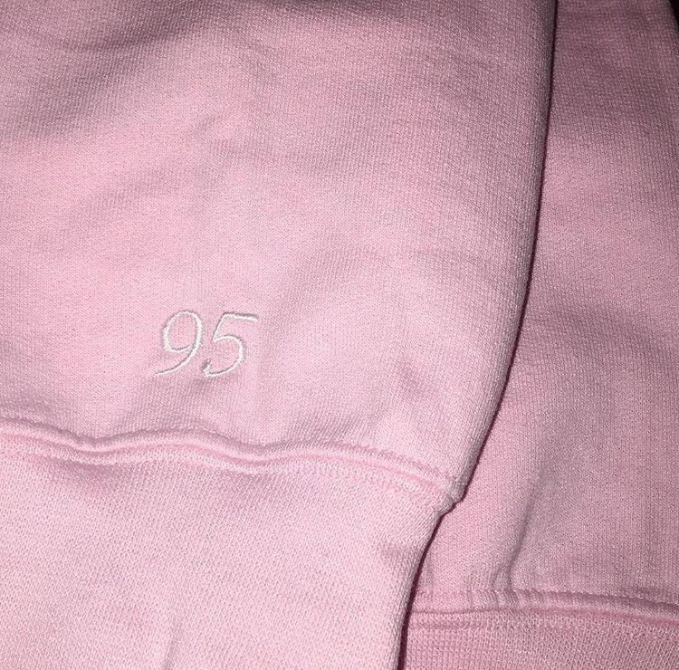 Image of Light Pink Oversized Sweatshirt