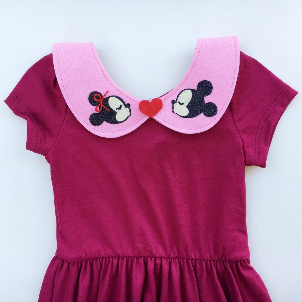 Image of Mickey & Minnie Collar - Pink
