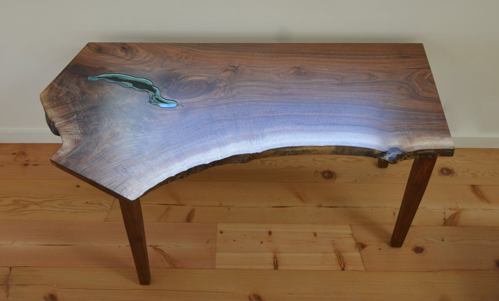 Image of walnut pond desk