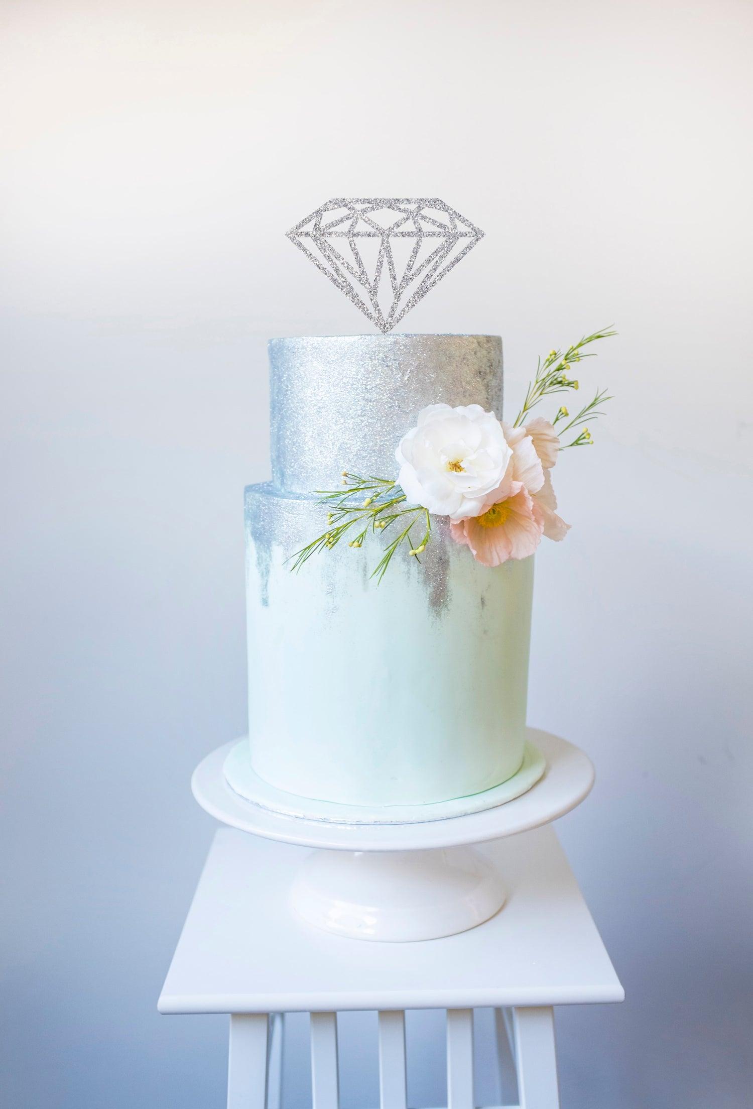 Image of Diamond Cake Topper