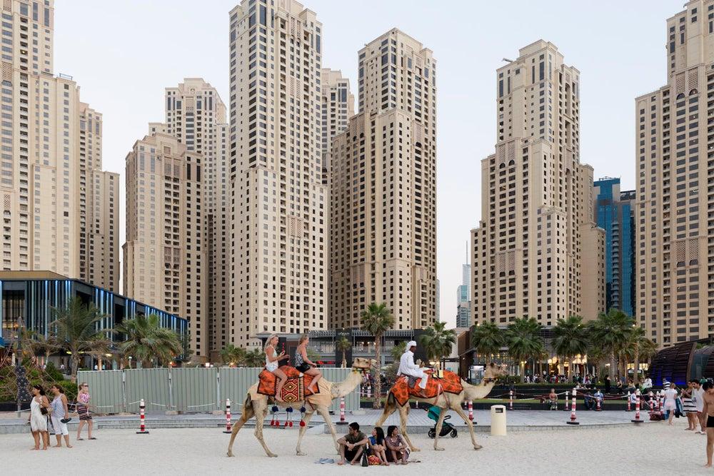 Image of Dubai, UAE. 50x75 cm