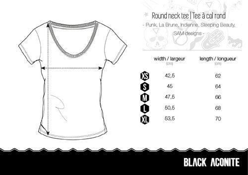 Image of Sam - Tee-shirt col rond femme