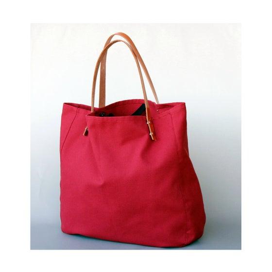 Image of Maxi Bolso - Shopping bag - Rojo