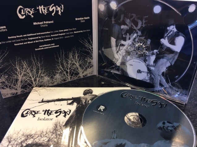 Image of Curse the Son - Isolator CD