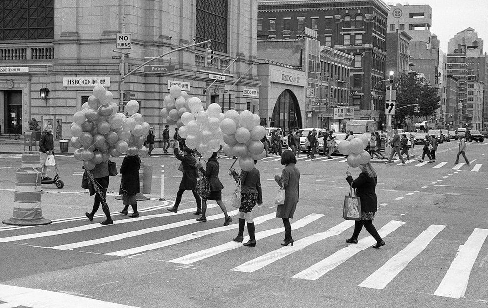 Image of Ballon Parade, Chinatown NYC, 2016