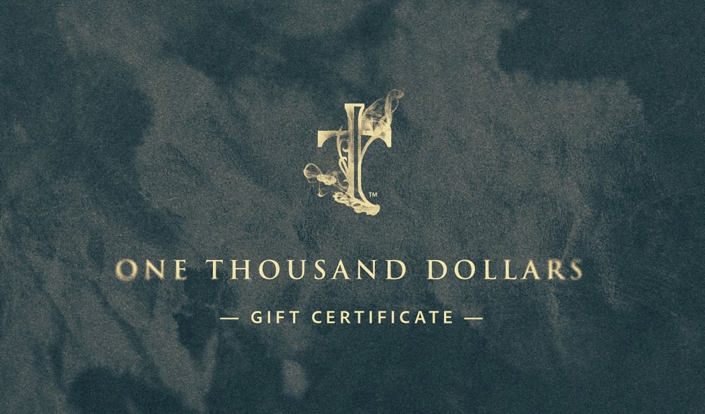 Image of $1,000 Gift Certificate
