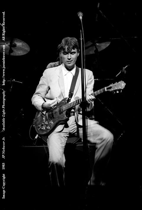 Image of Original 1983 David Byrne Limited Edition Fine Art Print