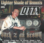 Image of Lighter Shade of Brown's  DTTX back 2 the Brown