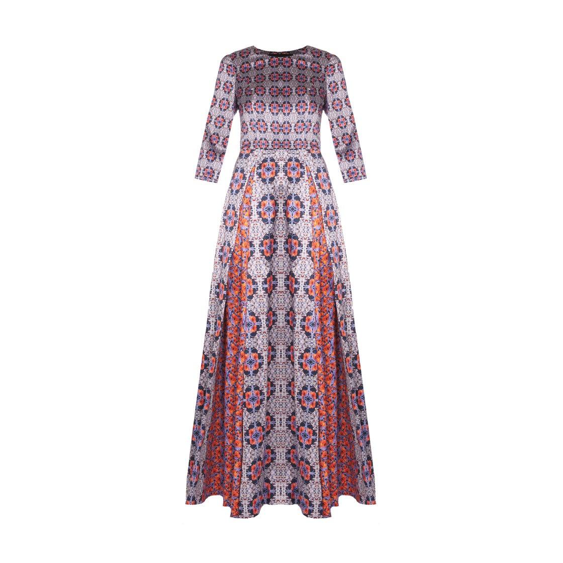 Image of LONG BONTON DRESS| Anemone