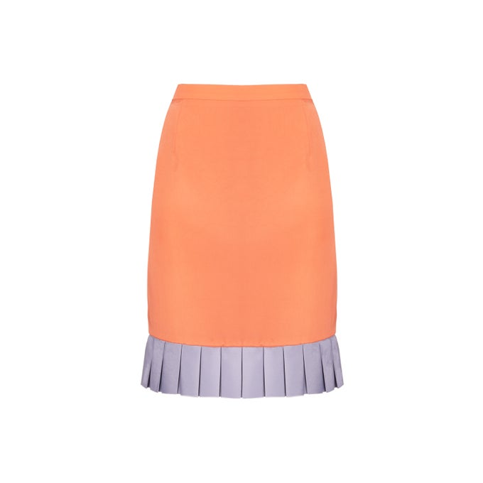 Image of PLISSE SKIRT| LILAC