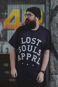 Image of .Lost Souls Slab Tee. Blackberry