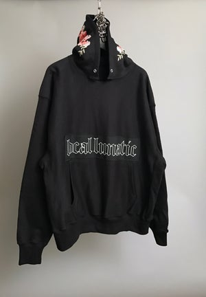 Image of Floral Appliqué Heavyweight Hoody (1of1)