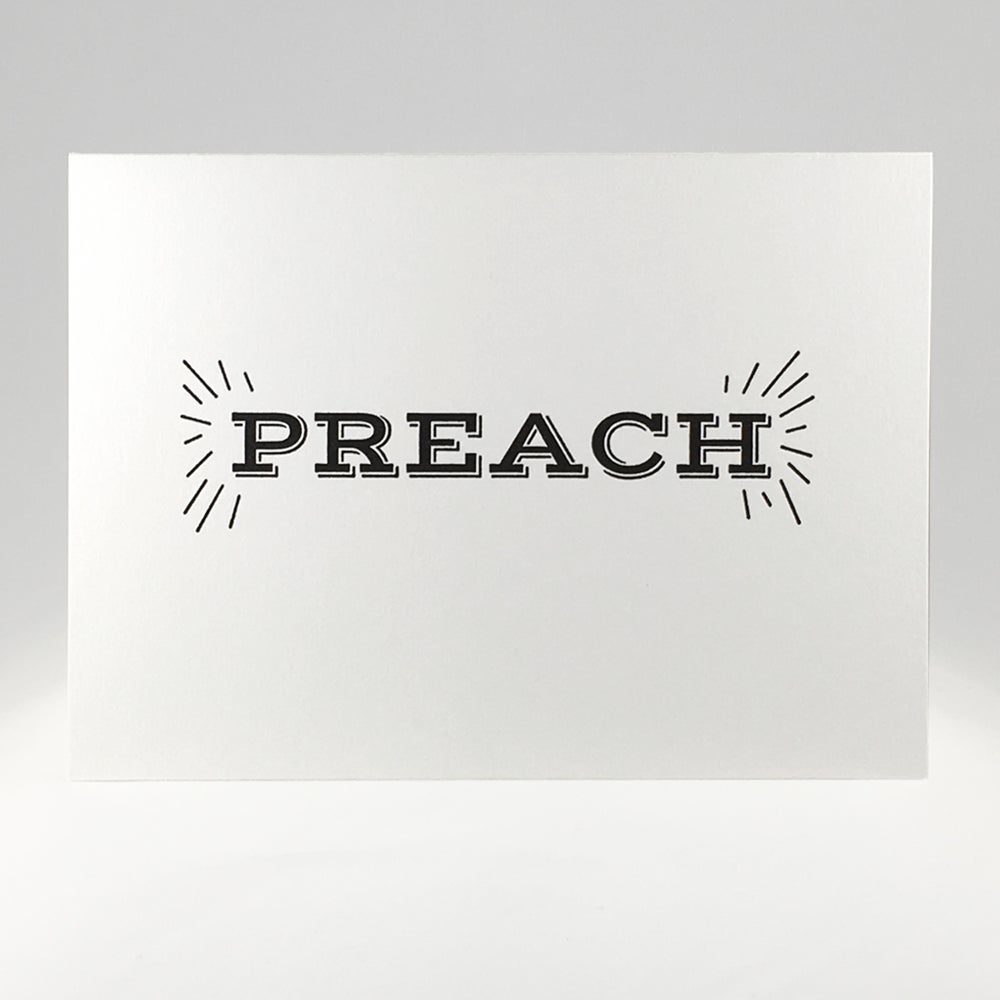 Image of PREACH