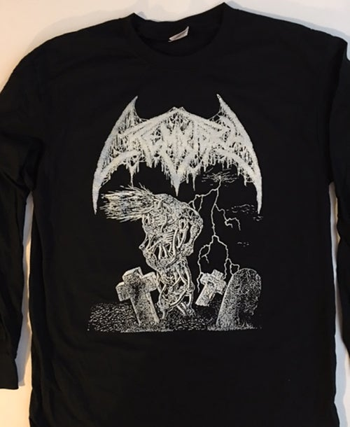 "Image of Crematory "" Wrath from The Unknown "" T shirt Long Sleeve"