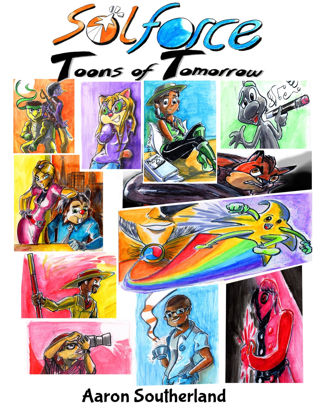 Image of SolForce: Toons of Tomorrow