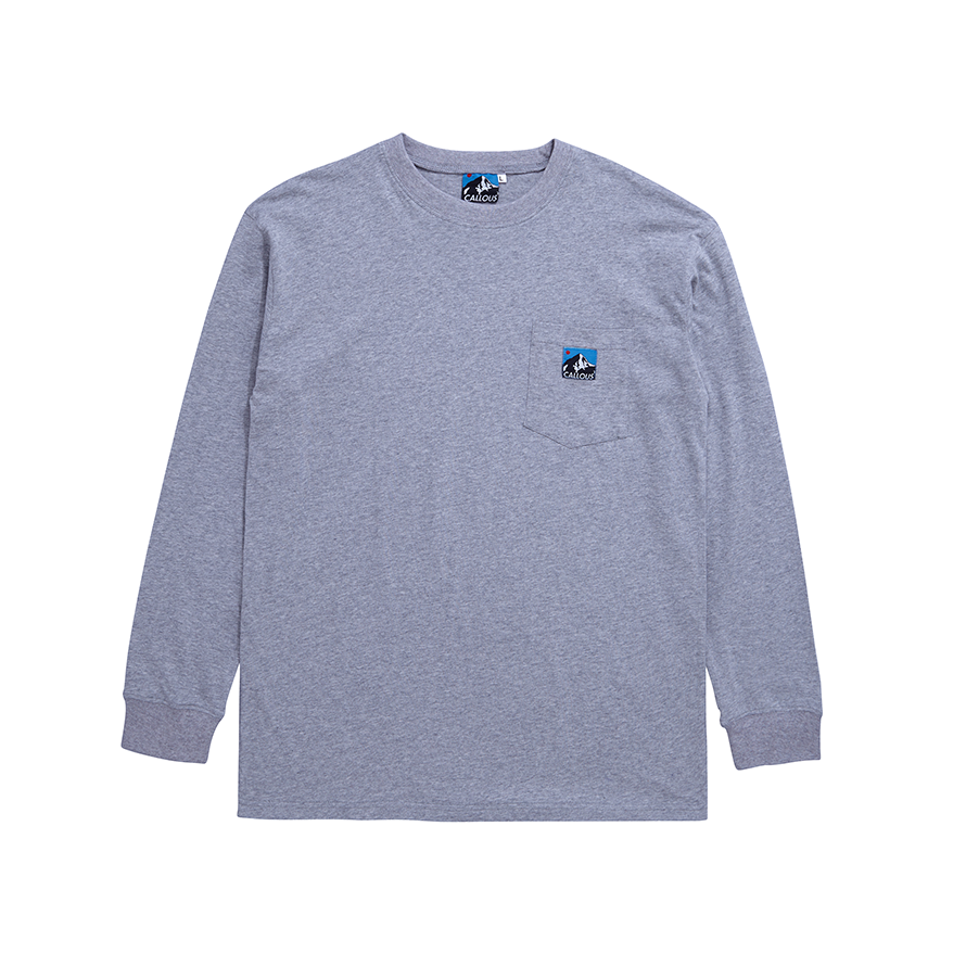 Image of Mountain T-Shirt Heather Grey