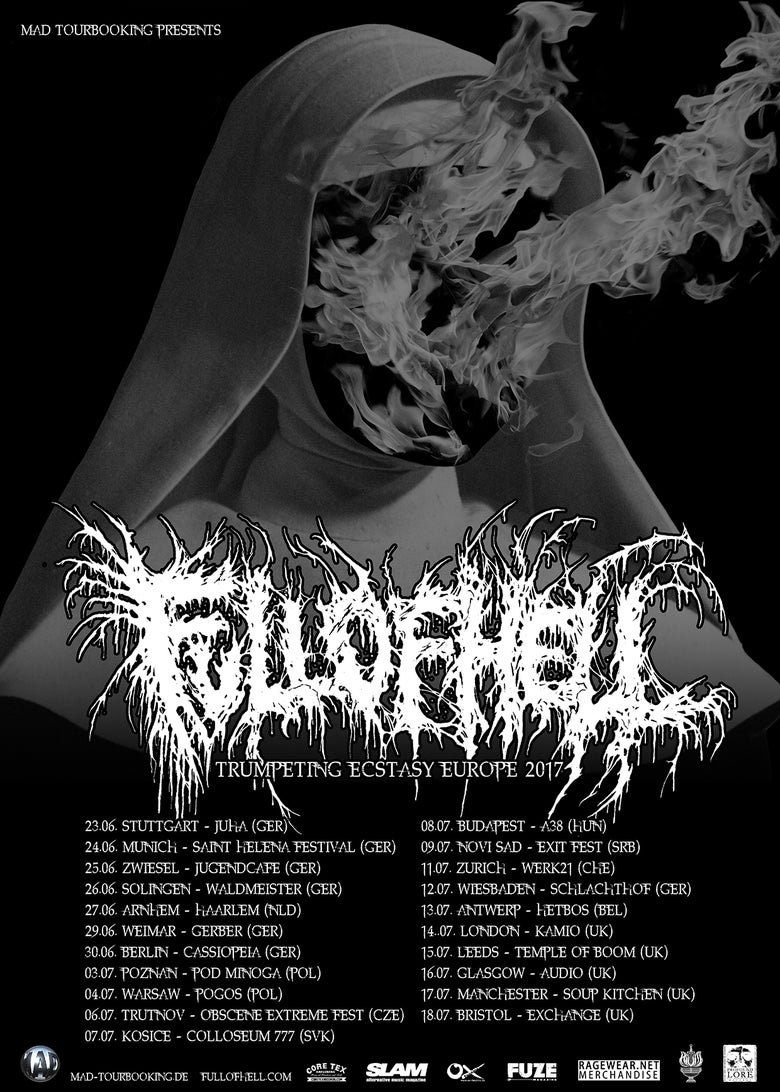 Image of Full Of Hell UK Tour LEEDS