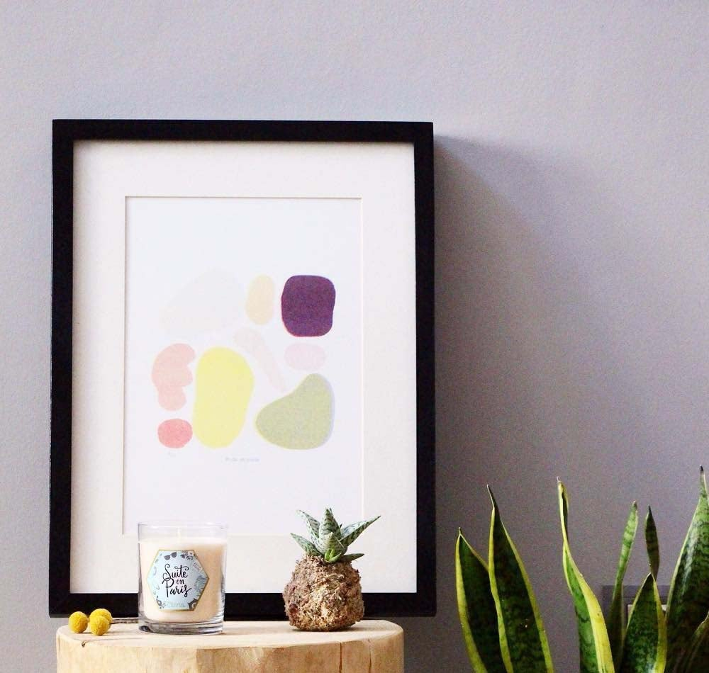 Image of Shapes print
