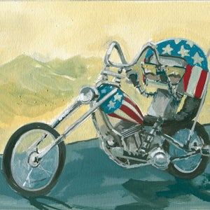Easy Rider - Matt Q. Spangler Illustration