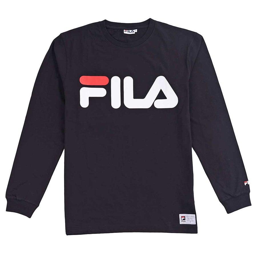 Image of Fila Basic Longsleeve Tshirt Black
