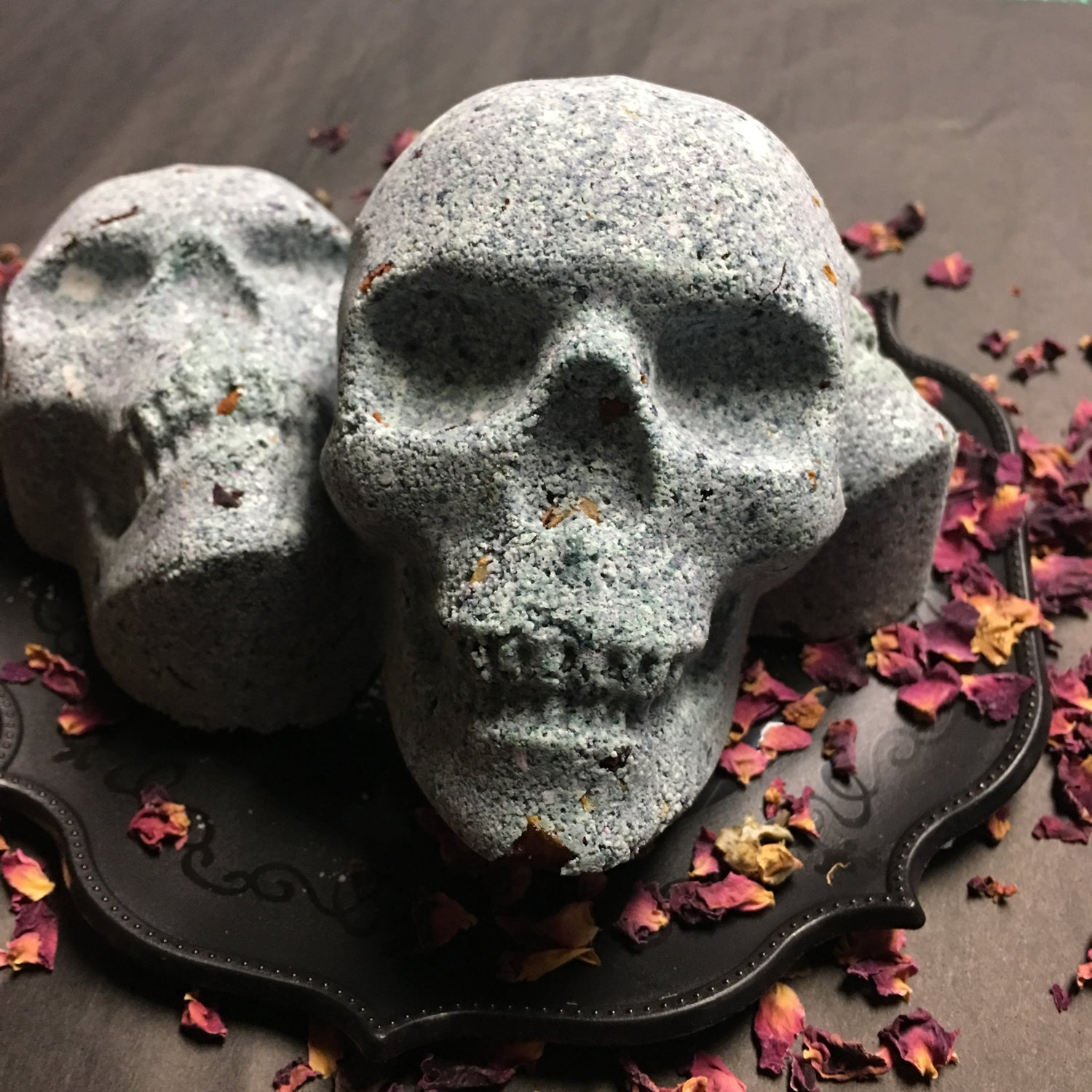 Image of Muscle Relief Goth Bath bombs