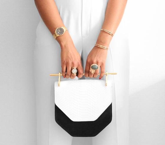 Image of Black/White Bag