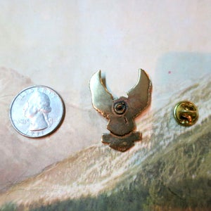 Image of Solid Brass HARLEY DAVIDSON Eagle Pin