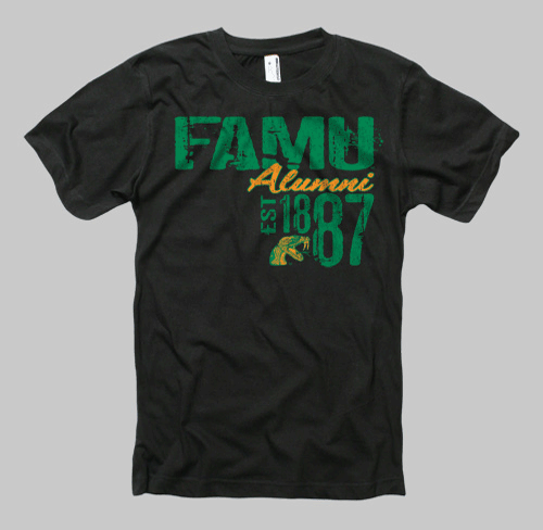 Image of Florida A&M Neptune Alumni Tee - Black