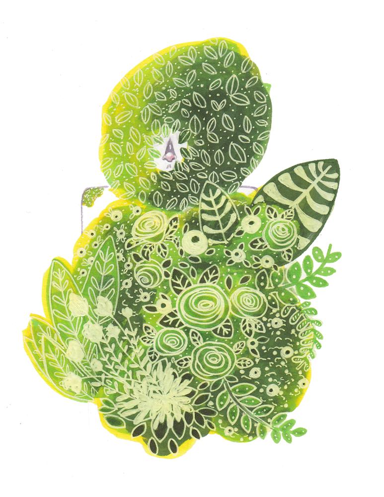 Image of Alien Plant Babes Zine