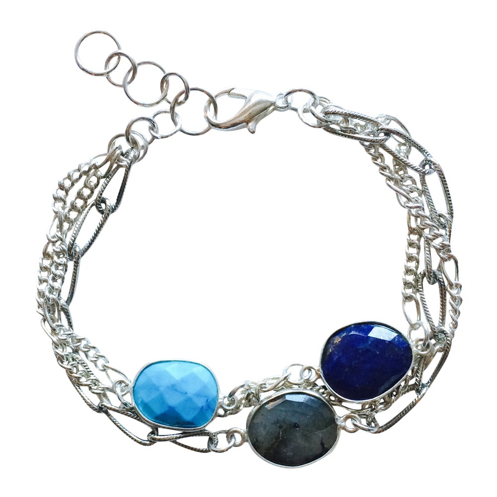 Image of PARTY-OF-THREE BRACELET